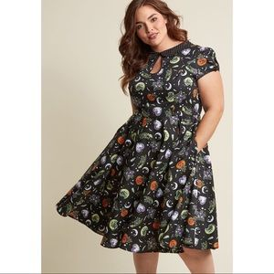 ModCloth Hell Bunny Salem Halloween Dress